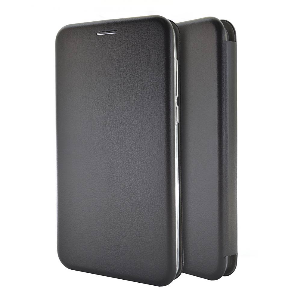 Θήκη Book Ancus Magnetic Curve για Huawei Y6 (2017) TPU Μαύρη
