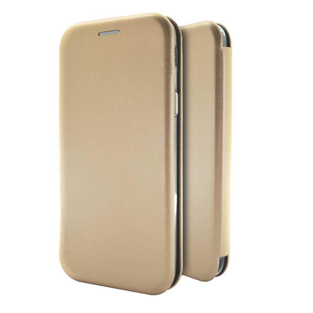 Θήκη Book Ancus Magnetic Curve για Xiaomi Redmi Note 5A Standard TPU Χρυσαφί