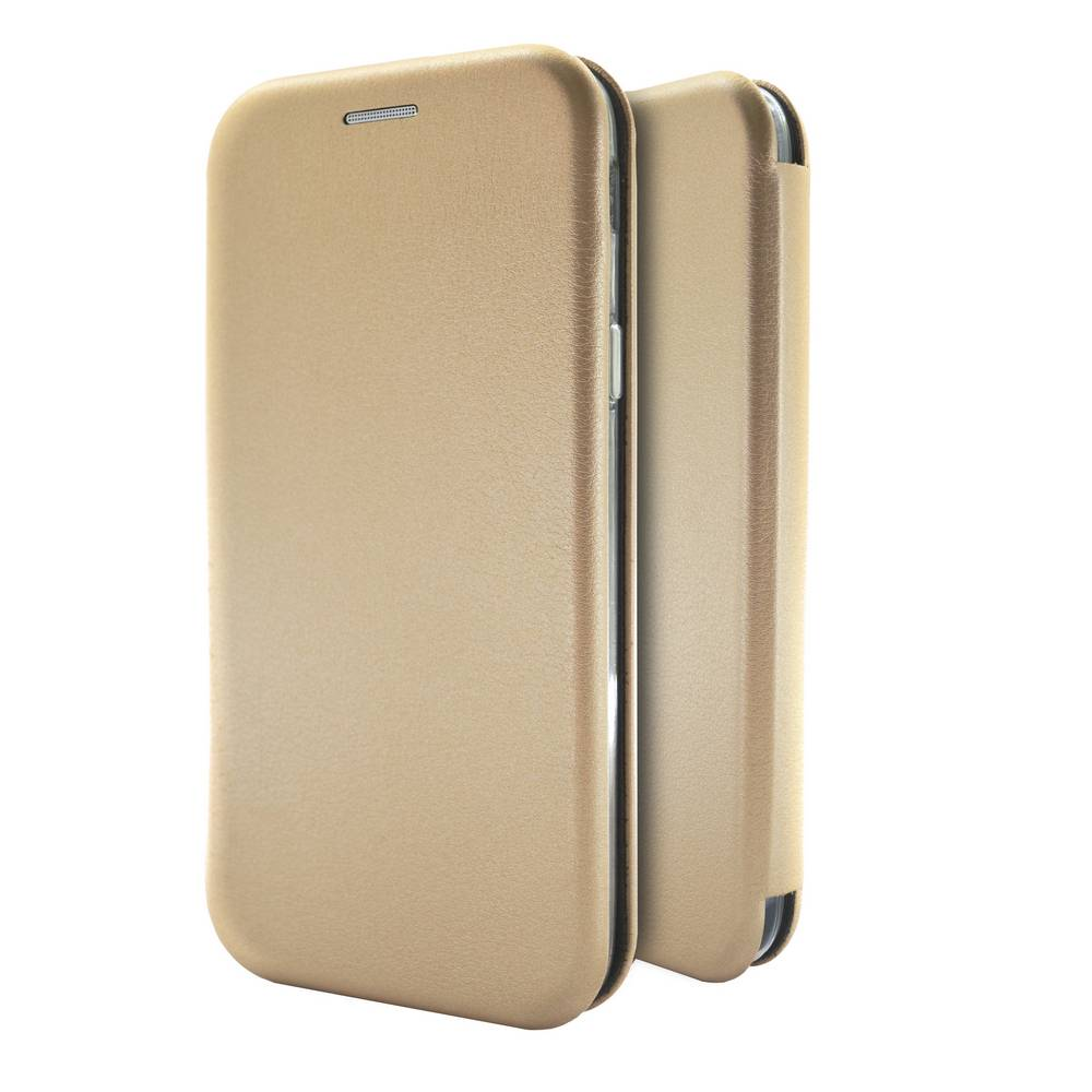 Θήκη Book Ancus Magnetic Curve για Xiaomi Redmi Note 5A Prime TPU Χρυσαφί