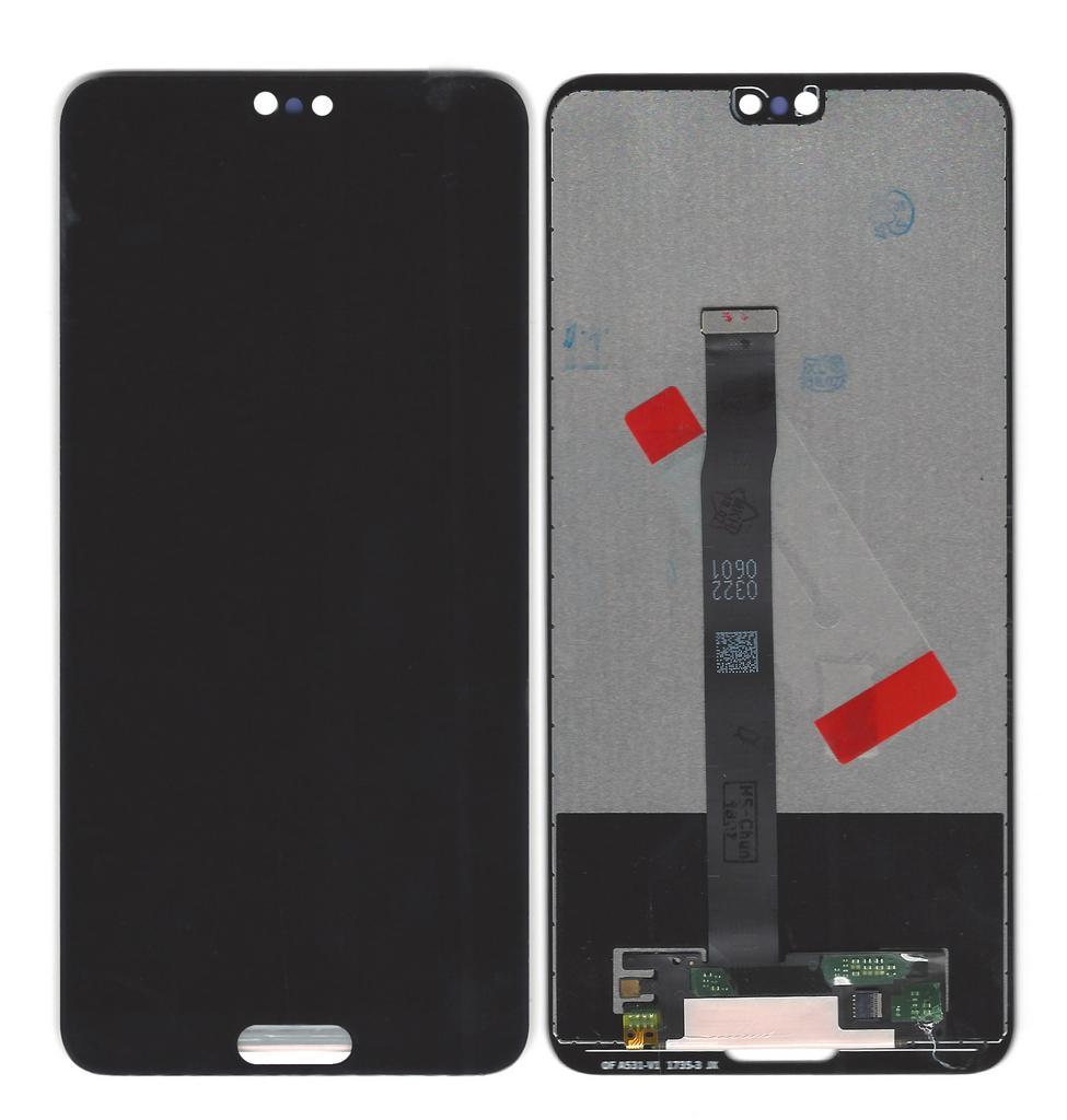Οθόνη & Μηχανισμός Αφής Huawei P20 Μαύρο χωρίς Πλαίσιο