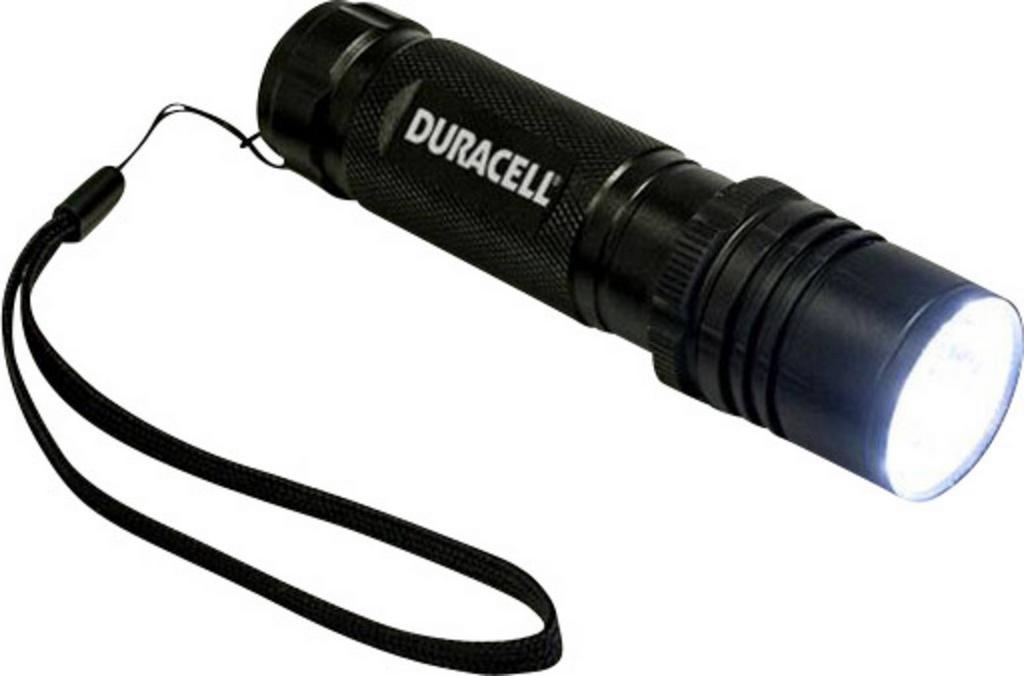 Φακός Αλουμινίου Duracell Tough 5W Led Αδιάβροχος Μαύρος CMP-8C / 300 Lumens/Απόσταση 143m