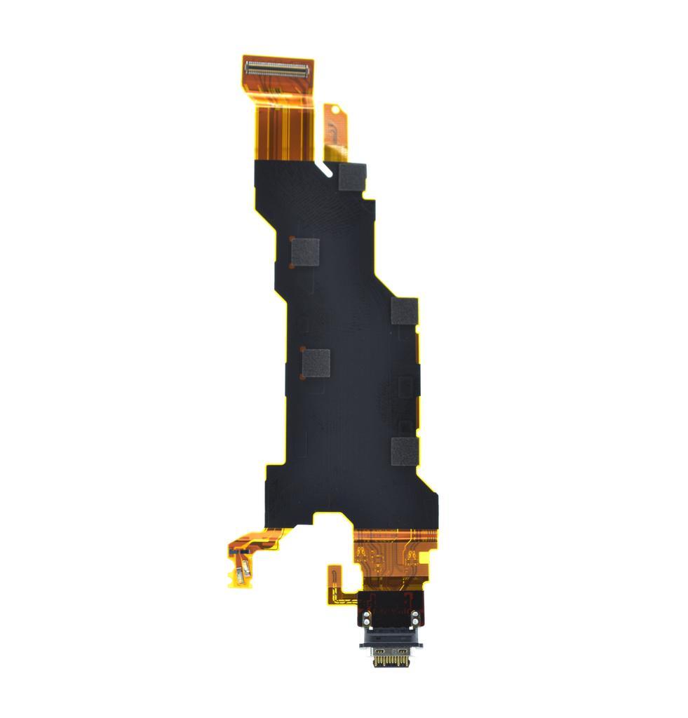 Καλώδιο Πλακέ Sony Xperia XZ2 H8216 με Επαφή Φόρτισης, USB Type-C Original 1309-7659