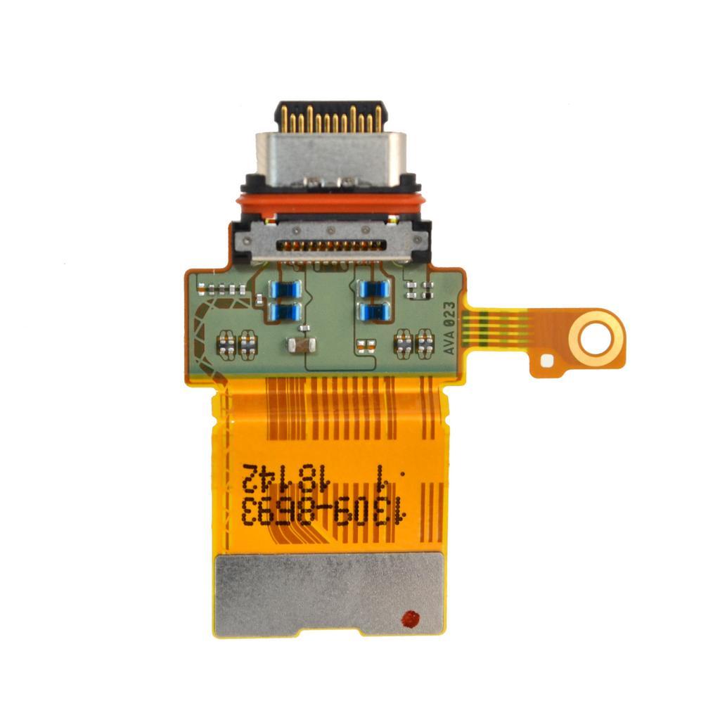 Καλώδιο Πλακέ Sony Xperia XZ2 Compact H8314 με Επαφή Φόρτισης, USB Type-C Original 1309-8693