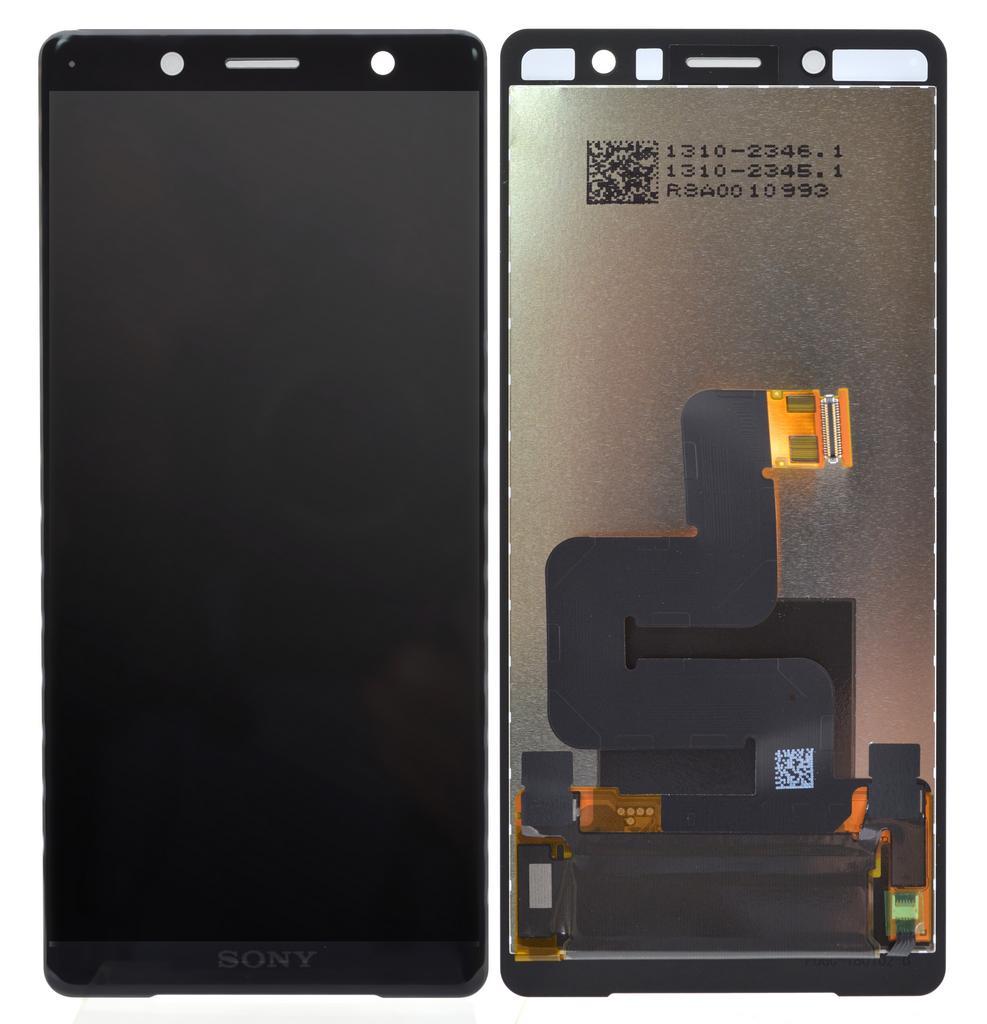 Γνήσια Οθόνη & Μηχανισμός Αφής Sony Xperia XZ2 Compact H8314 Μαύρο 1313-0914