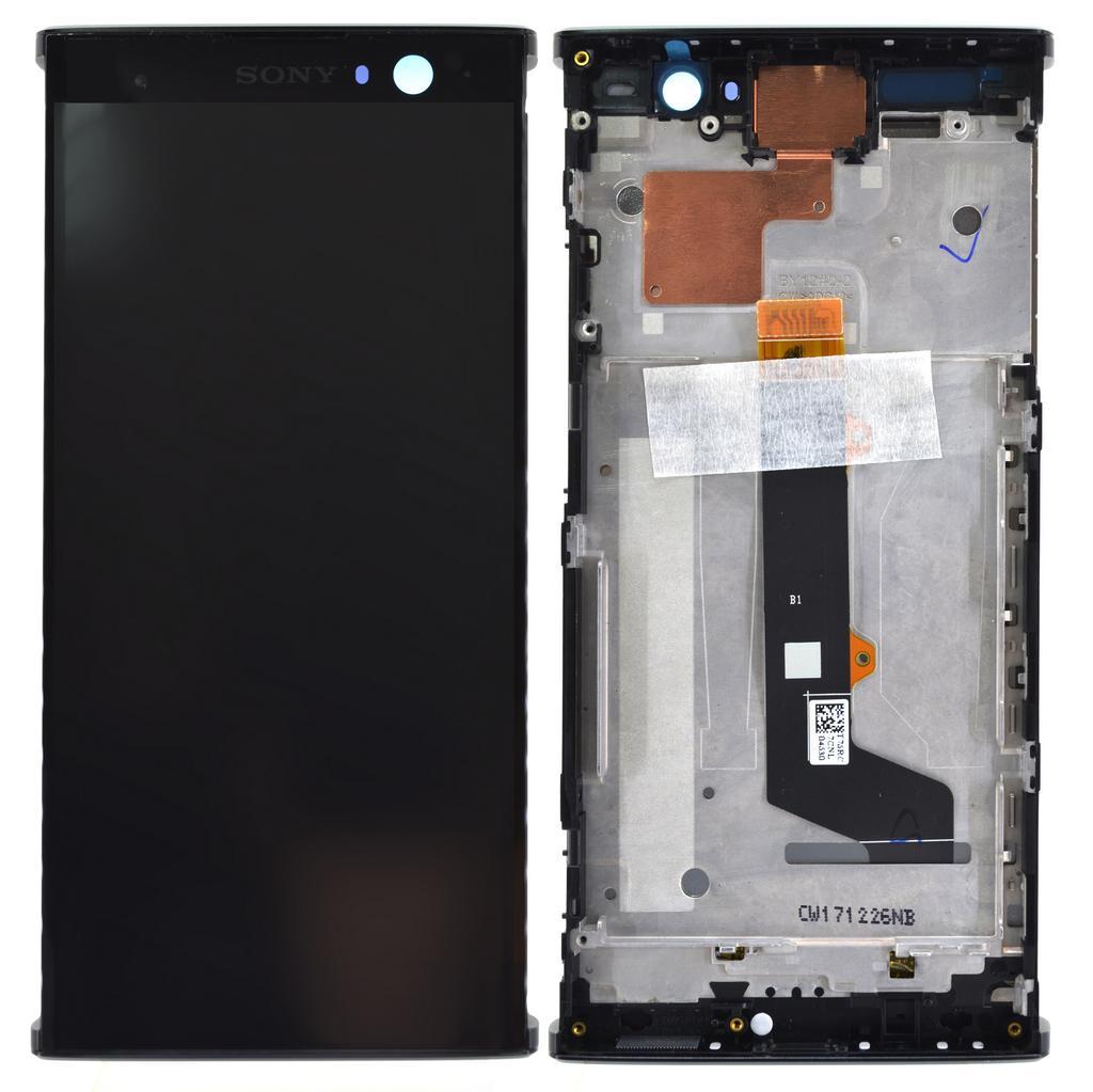Γνήσια Οθόνη & Μηχανισμός Αφής Sony Xperia XA2 H3113 Μαύρο 78PC0600020