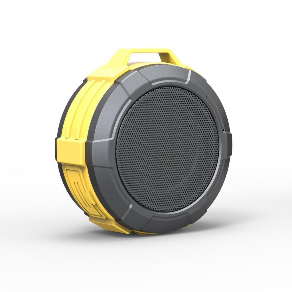 Φορητό Ηχείο Εξωτερικού Χώρου Bluetooth Maxton Telica MX51 3W IP5 Κίτρινο με Ανοιχτή Ακρόαση, Audio-in, MicroSD