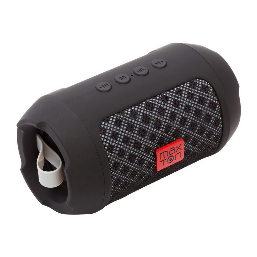 Φορητό Ηχείο Bluetooth Maxton Masaya MX116 3W Μαύρο με Ανοιχτή Ακρόαση, Audio-in, MicroSD και FM Radio