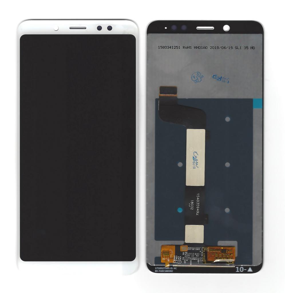 Οθόνη & Μηχανισμός Αφής Xiaomi Redmi Note 5 Λευκό (Διάσταση:154mm)