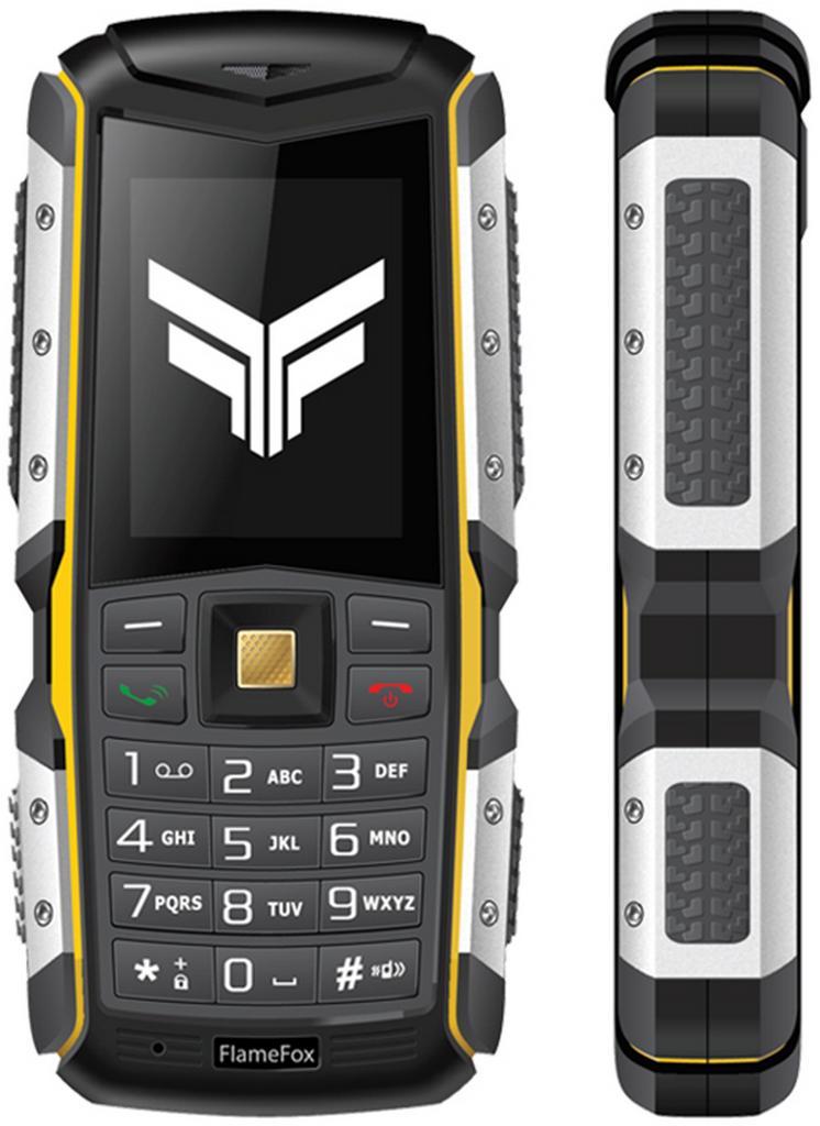 "FlameFox Stone (Dual Sim) 2"" IP67 με Bluetooth, Φακό, Μπαταρία Li-Ion 2570mAh"
