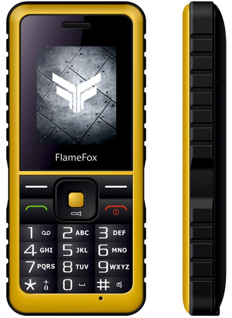 "FlameFox Rock (Dual Sim) 1.77"" IP67 με Κάμερα, Bluetooth, Φακό, Μπαταρία Li-Ion 1000mAh"