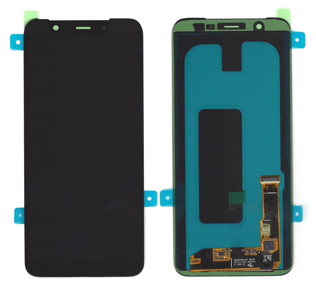 Γνήσια Οθόνη & Μηχανισμός Αφής Samsung SM-A605FN Galaxy A6+ (2018) Duos Μαύρο GH97-21878A