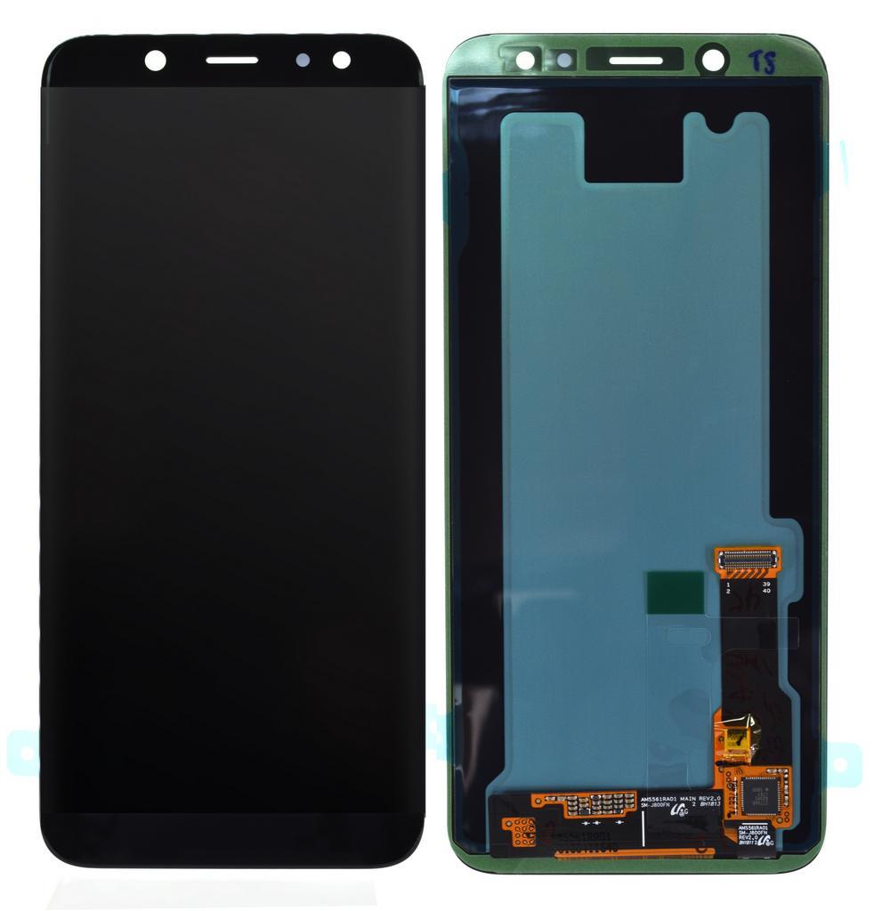 Γνήσια Οθόνη & Μηχανισμός Αφής Samsung SM-A600F Galaxy A6 (2018) Μαύρο GH97-21897A