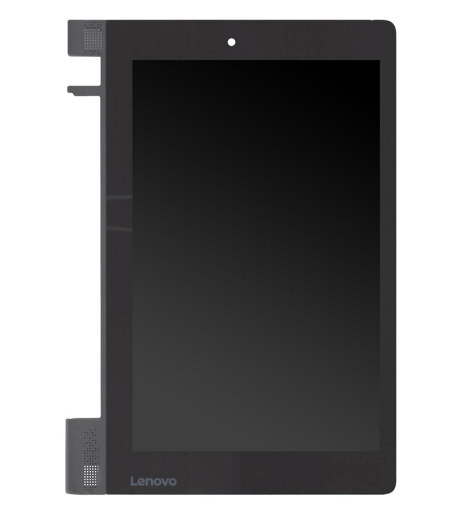 """Γνήσια Οθόνη & Μηχανισμός Αφής Lenovo Yoga Tab 3 8"""" YT3-850F Μαύρο με Πλαίσιο"""