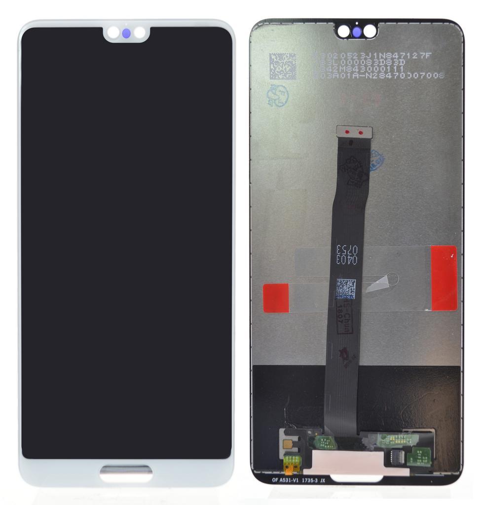 Οθόνη & Μηχανισμός Αφής Huawei P20 Λευκό χωρίς Πλαίσιο
