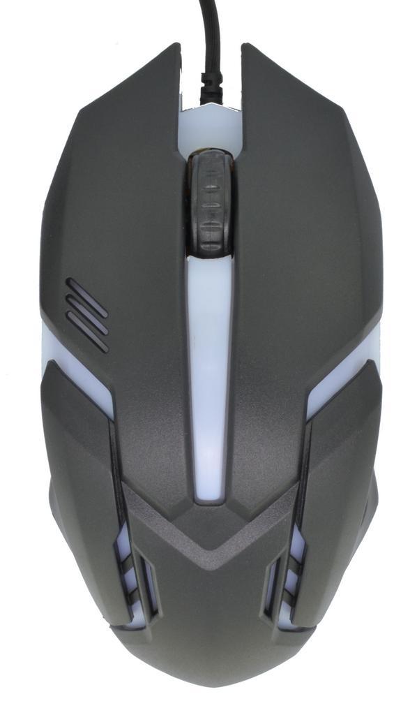 Ενσύρματο Ποντίκι Keywin Gaming Mouse 3 Πλήκτρων 1600 DPI Μαύρο - Λευκό