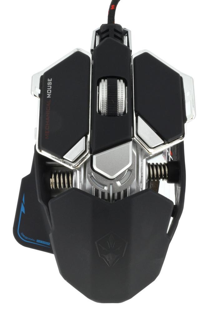 Ενσύρματο Ποντίκι Mechanical Gaming Mouse Luom G10 Led 10 Πλήκτρων 4000 DPI Μαύρο