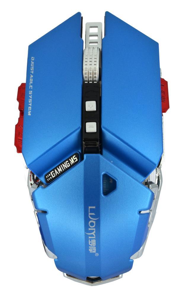 Ενσύρματο Ποντίκι Mechanical Gaming Mouse Luom G50 10 Πλήκτρων 4000 DPI Μπλε
