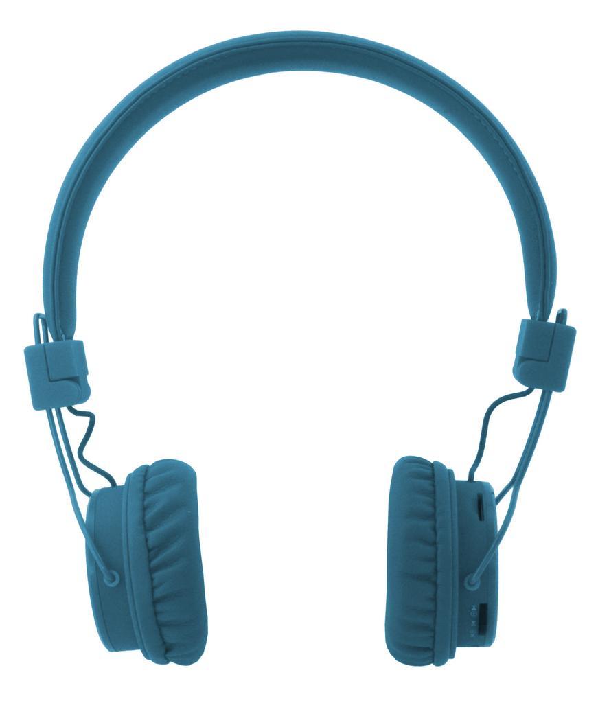 Bluetooth Ακουστικά Stereo NIA Foldable NIA-X3 Multi Pairing Μπλε με Μικρόφωνο, Ραδιόφωνο FM και MP3 Player με Κάρτα Μνήμης Micro SD