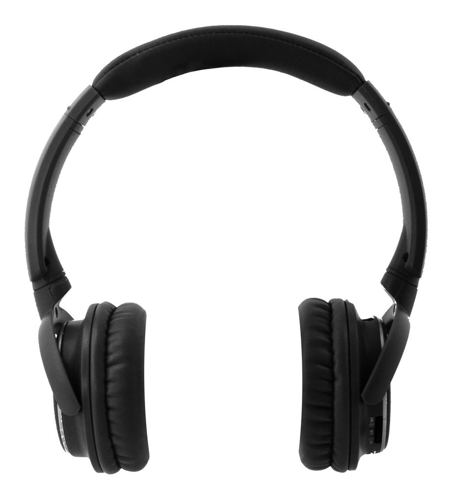 Bluetooth Ακουστικά Stereo NIA-Q1 Μαύρα με Μικρόφωνο, Ραδιόφωνο FM, Audio In και MP3 Player με Κάρτα Μνήμης Micro SD