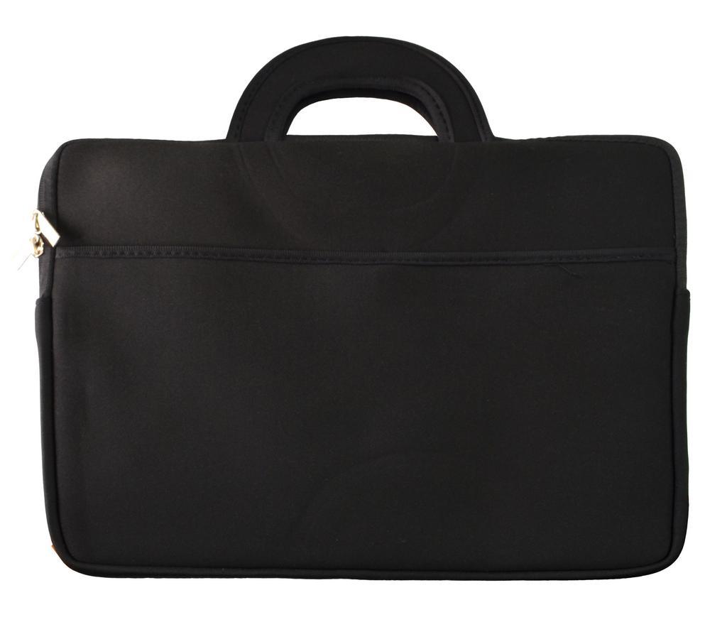 """Τσάντα Notebook Χειρός Neoprene έως 15.6"""" Μαύρο (39 cm x 30 cm)"""