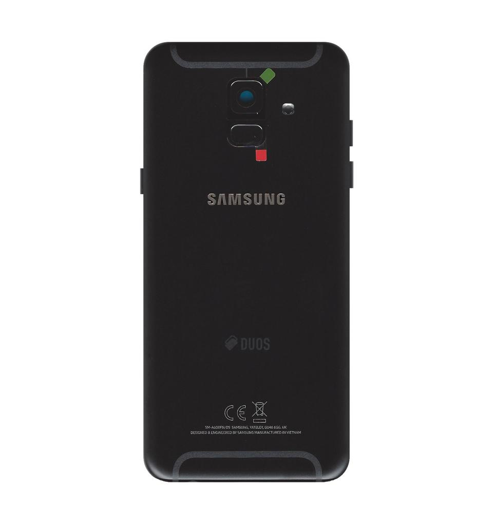 Καπάκι Μπαταρίας Samsung SM-A600FN Galaxy A6 (2018) Μαύρο Original GH82-16423A