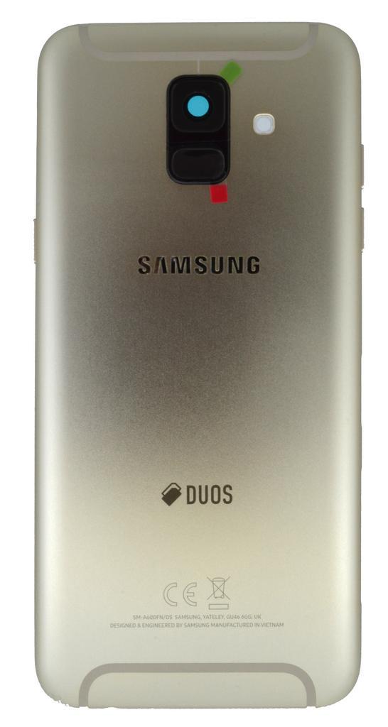 Καπάκι Μπαταρίας Samsung SM-A600FN Galaxy A6 (2018) Χρυσό Original GH82-16423D