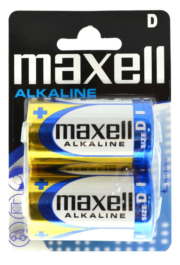 Μπαταρία Αλκαλική Maxell LR20 size D Τεμ. 2