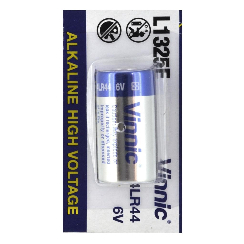 Μπαταρία Αλκαλική Vinnic L1325F 4LR44/A544 6V Τεμ. 1