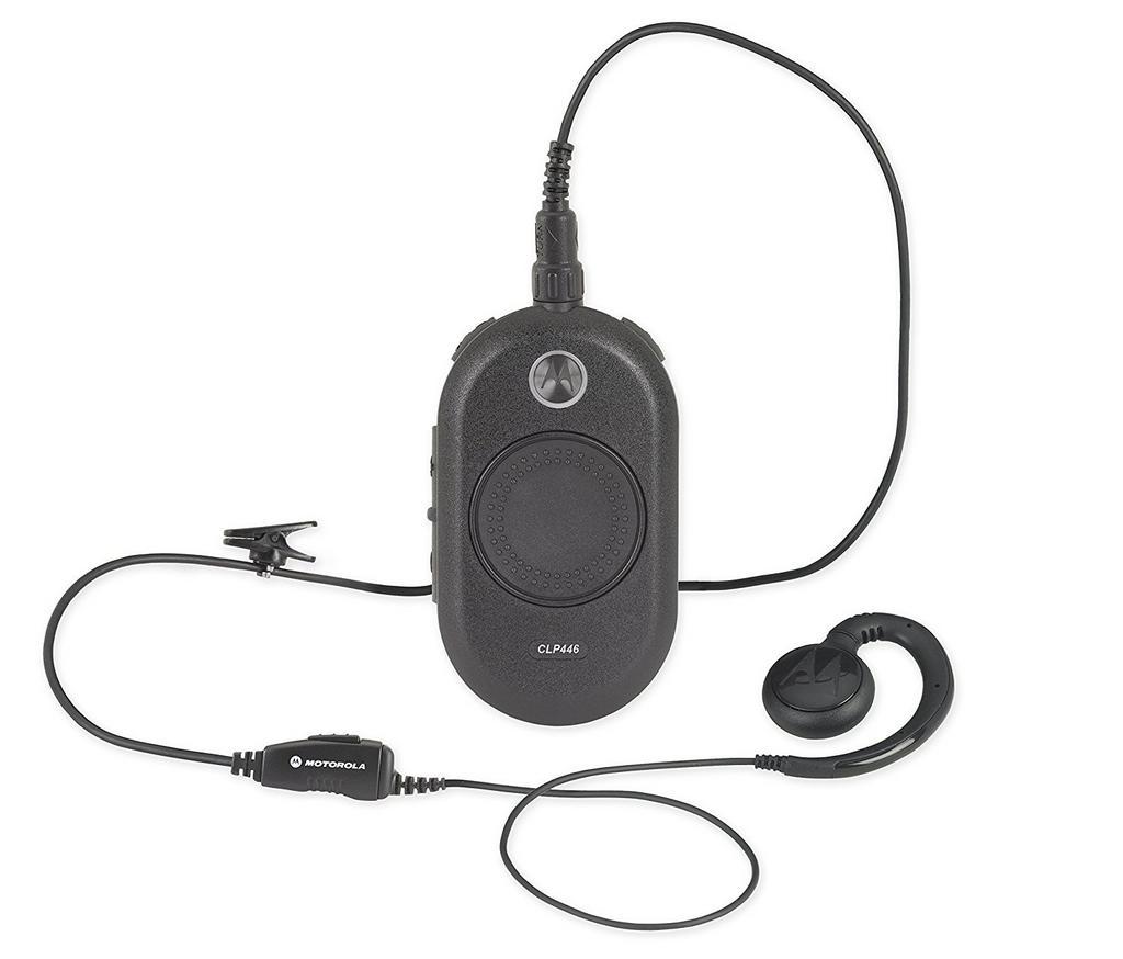 Walkie Talkie Motorola CLP446 Business PMR Μαύρο. Μέγιστο Εύρος Κάλυψης 7 km
