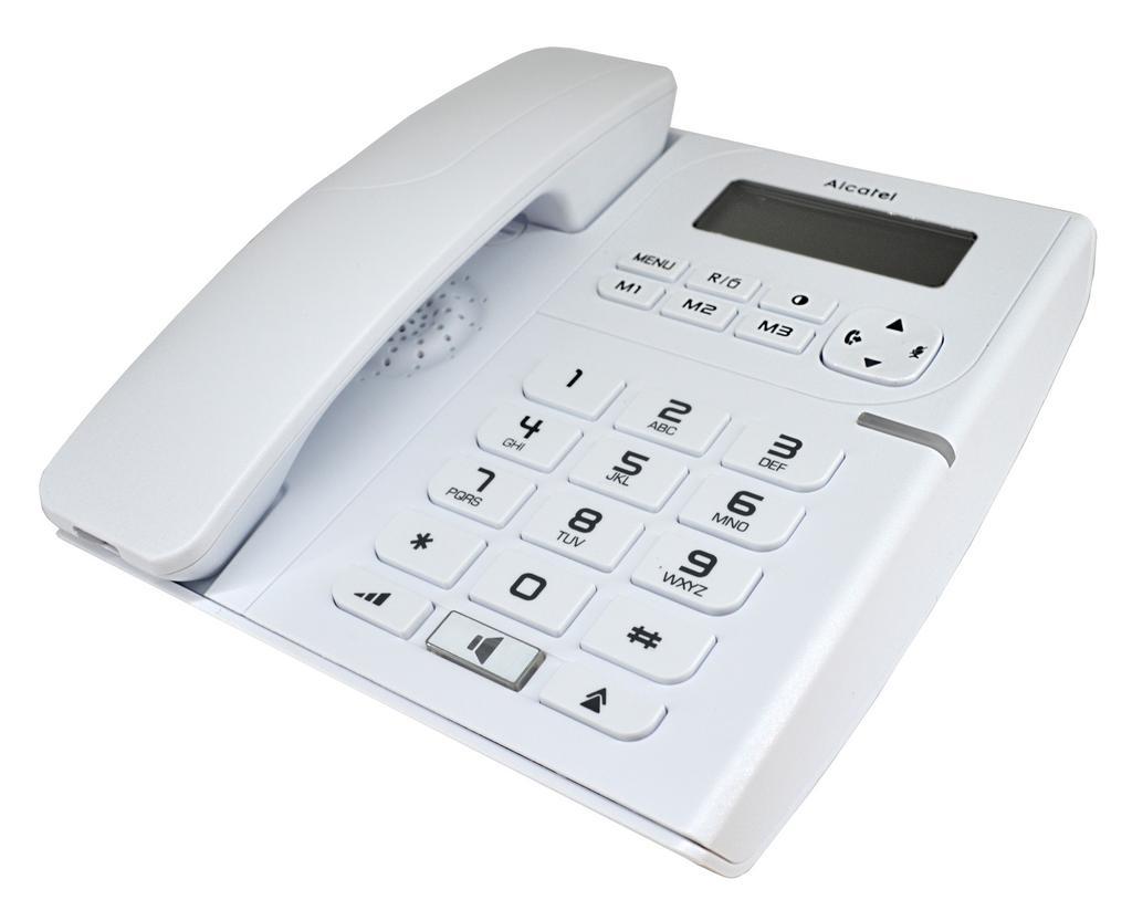 Σταθερό Ψηφιακό Τηλέφωνο Alcatel Temporis 58 Λευκό