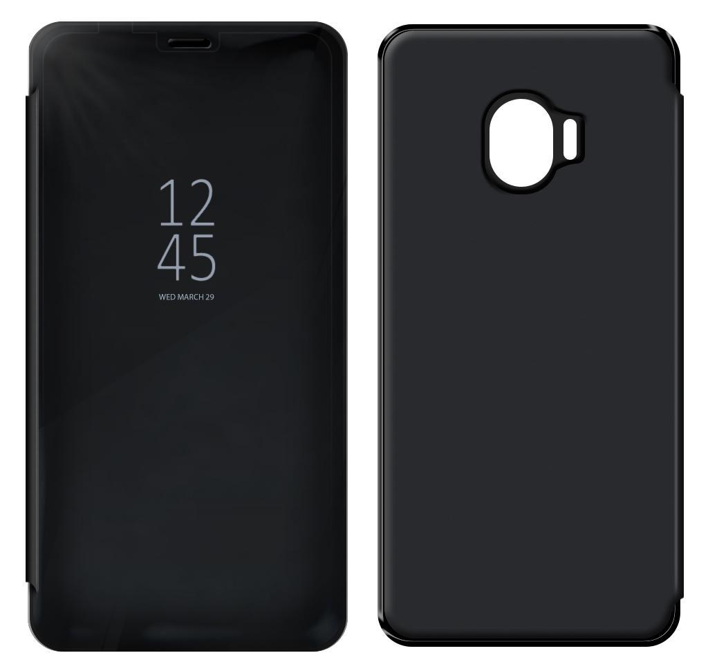 Θήκη Book Kview Standing Cover για Samsung SM-J400F Galaxy J4 (2018) Μαύρη