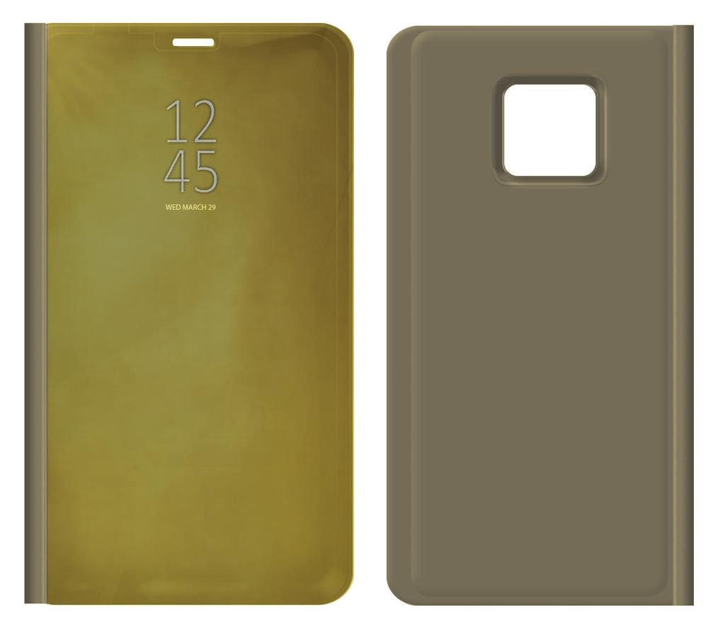 Θήκη Book Kview Standing Cover για Samsung SM-J250F Galaxy J2 Pro (2018) Χρυσαφί