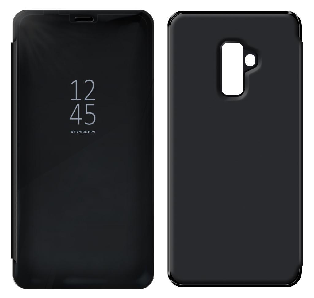Θήκη Book Kview Standing Cover για Samsung SM-A605F Galaxy A6+ Μαύρη