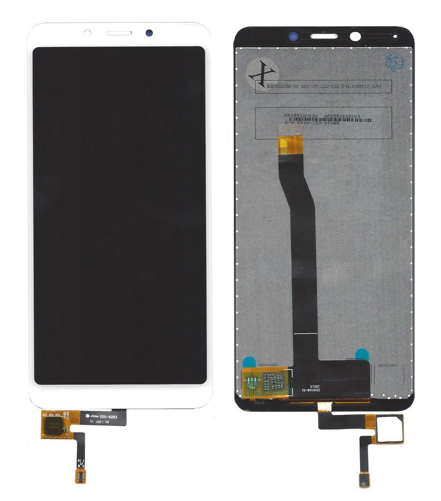 Οθόνη & Μηχανισμός Αφής Xiaomi Redmi 6A Λευκό