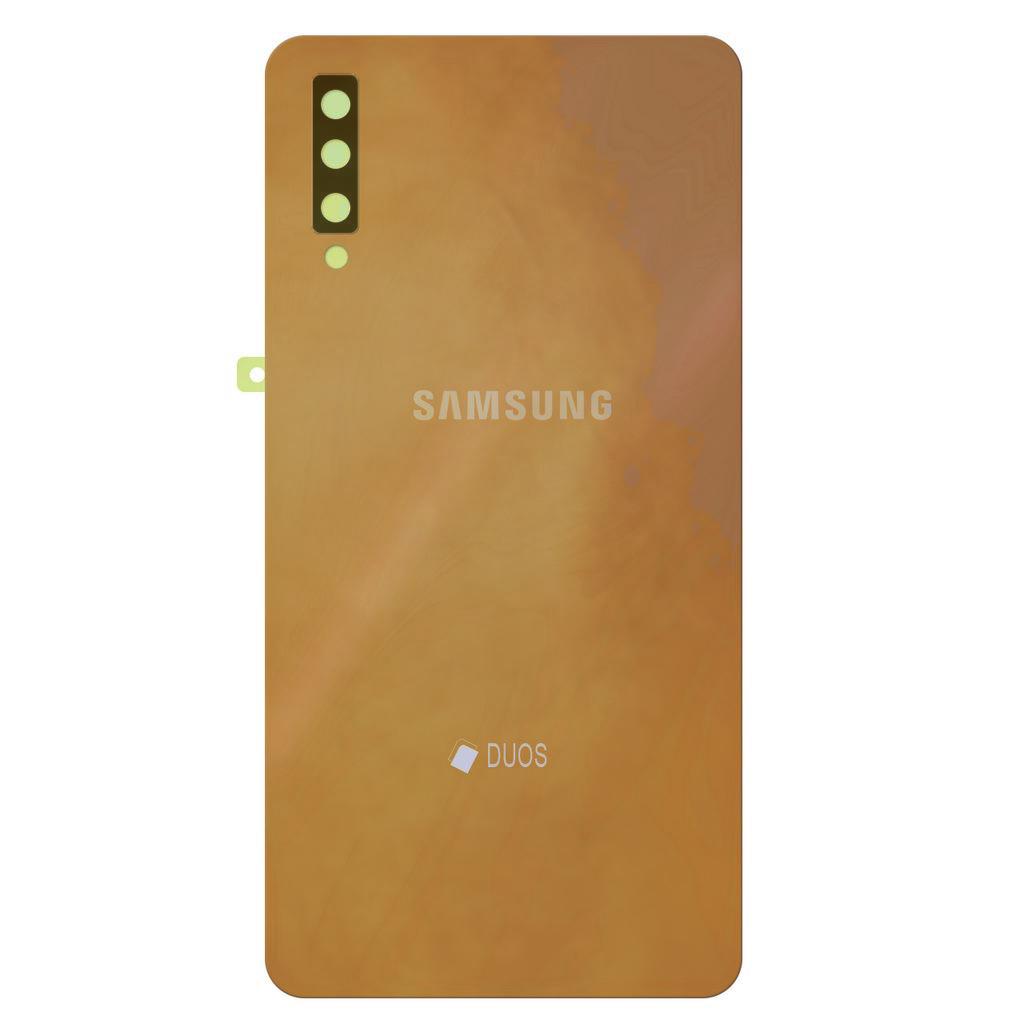Καπάκι Μπαταρίας Samsung SM-A750F Galaxy A7 (2018) Χρυσαφί Original GH82-17833C