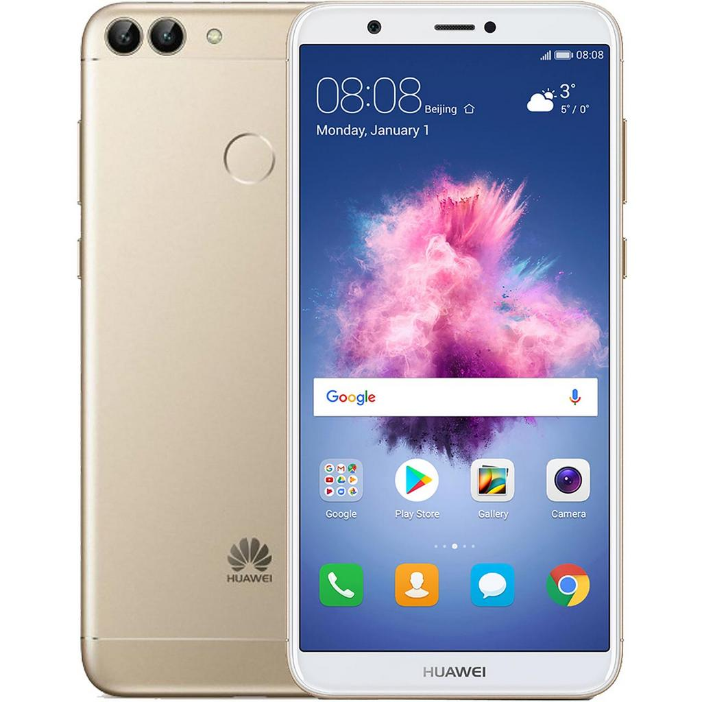 Huawei P Smart (2018) 4G 5.65'' 3GB/32GB Dual Sim Χρυσαφί (EU)