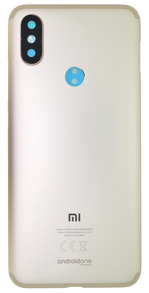 Καπάκι Μπαταρίας Xiaomi Mi A2 Χρυσαφί OEM Type A
