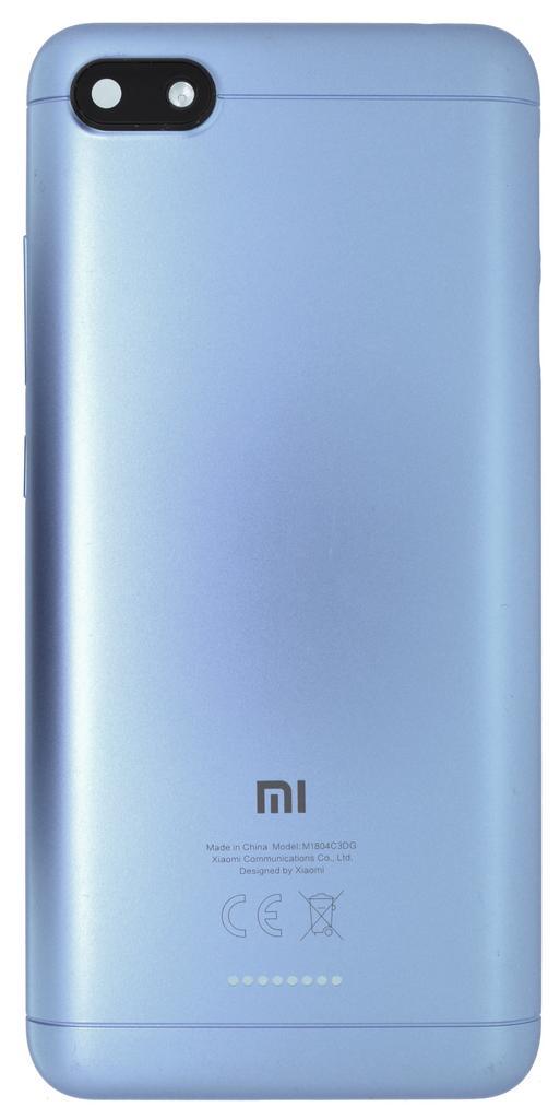 Καπάκι Μπαταρίας Xiaomi Redmi 6A Μπλε OEM Type A