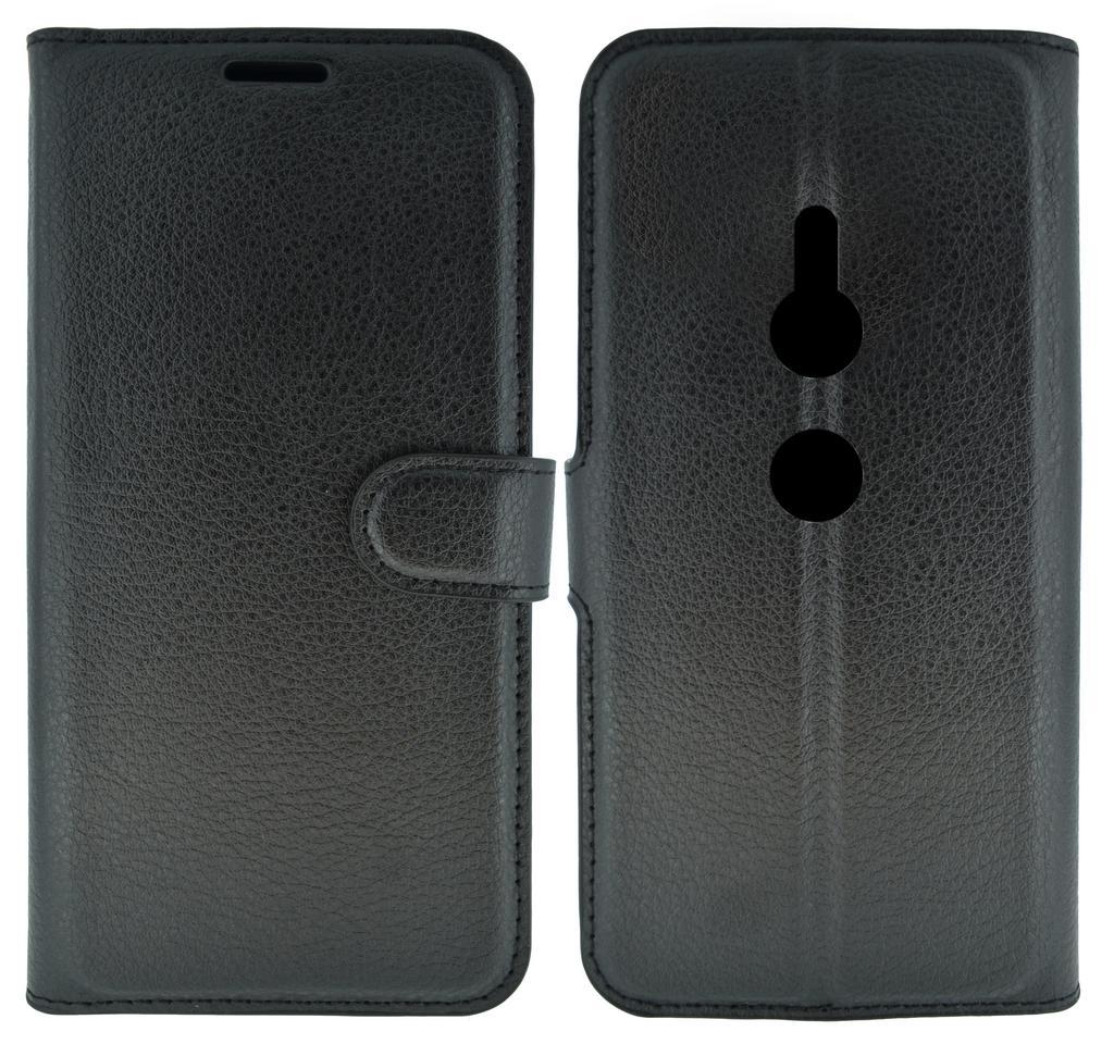 Θήκη Book Ancus Teneo για Sony Xperia XZ3 Μαύρη