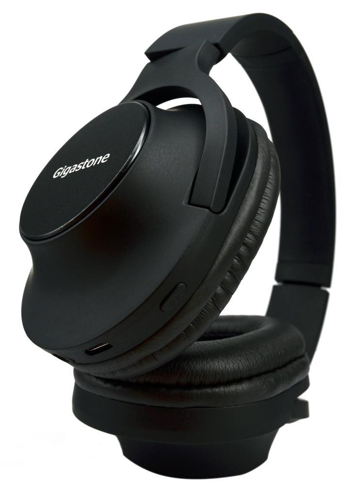 Bluetooth Ακουστικά Stereo Gigastone Foldable H1 με Έκδοση Bluetooth 4.2 Multi Pairing Καλώδιο Φόρτισης Μαύρο