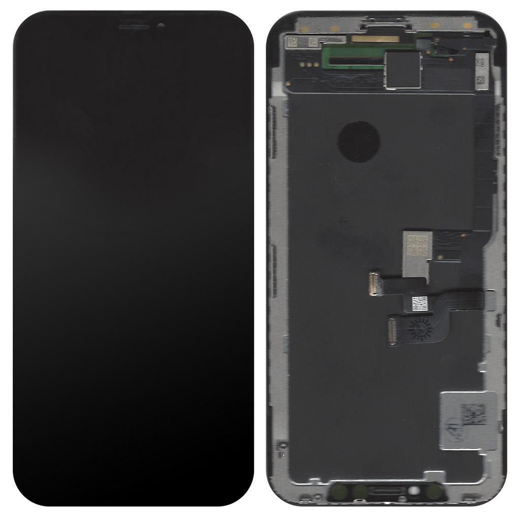 Οθόνη & Μηχανισμός Αφής Apple iPhone X AMOLED Type A Μαύρη