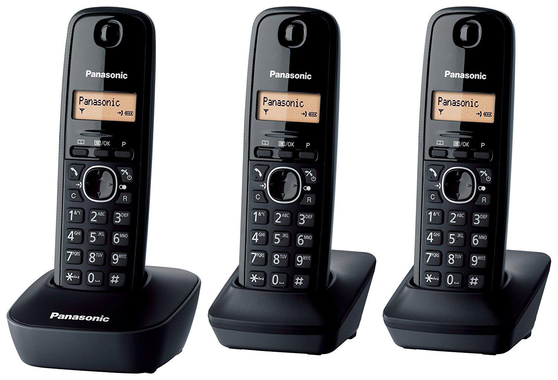 Ασύρματο Ψηφιακό Τηλέφωνο Panasonic KX-TG1613JTH Μαύρο