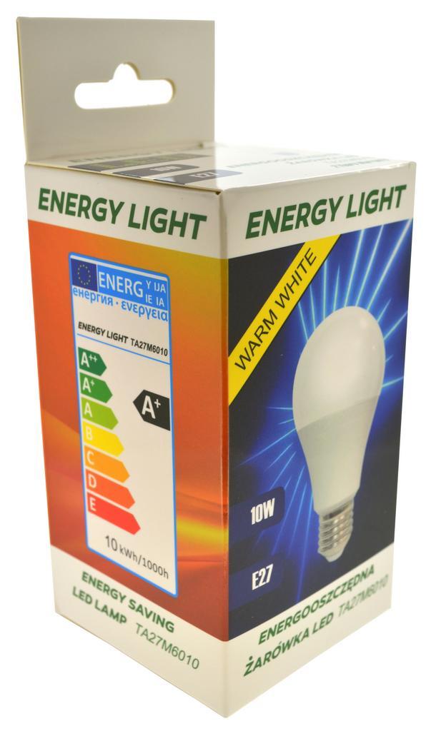 Λάμπα LED Energy Light E27 10W 860 Lumen 230V 50Hz A+