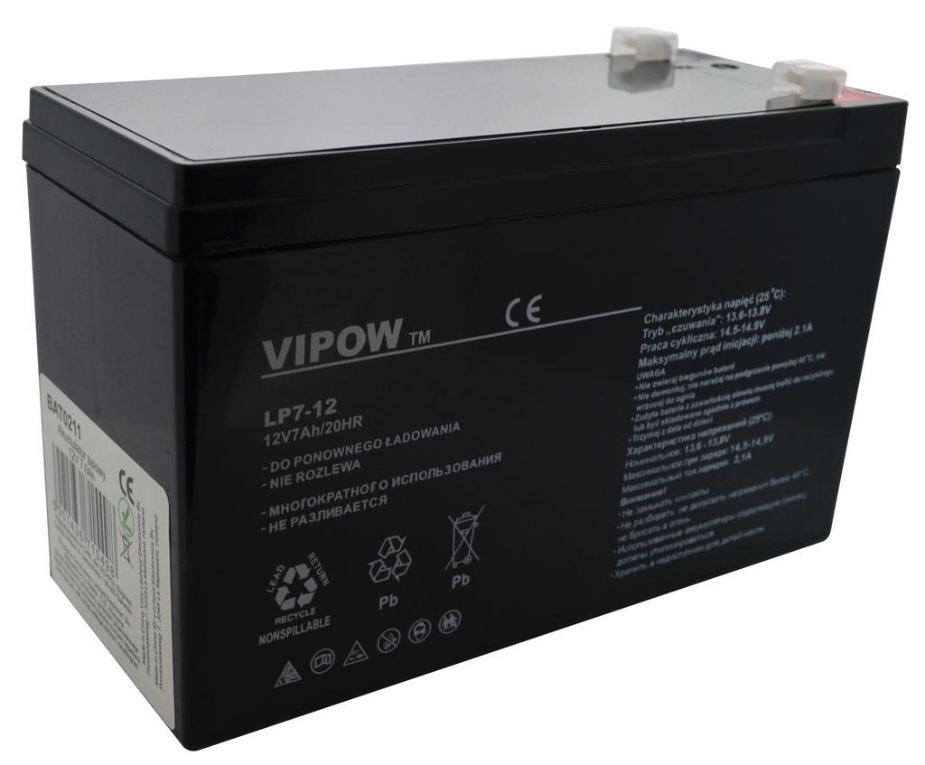 Μπαταρία για UPS Vipow LP7-12 (12V 7 Ah) 2.15 kg 151mm x 65mm x 94mm