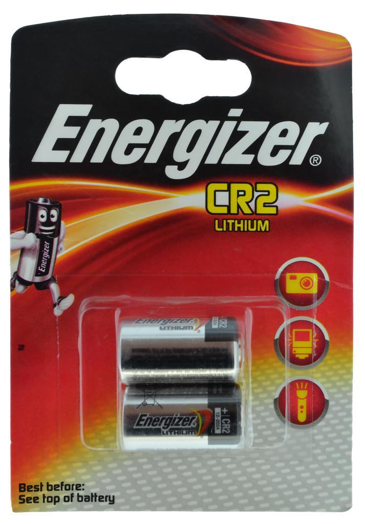 Μπαταρία Lithium Energizer CR2 3V Τεμ. 2