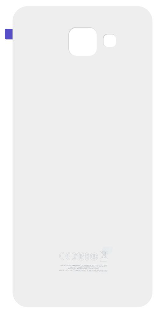 Καπάκι Μπαταρίας Samsung SM-A510F Galaxy A5 (2016) Λευκό OEM Type A