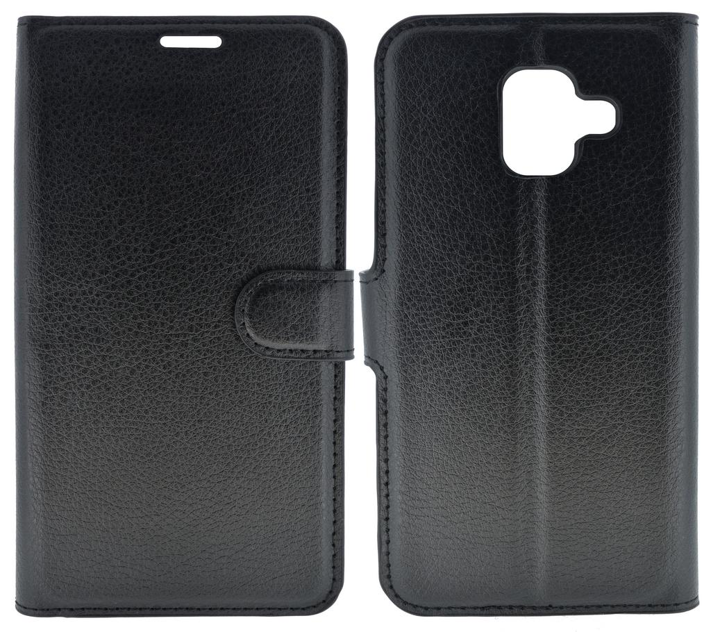 Θήκη Book Ancus Teneo για Samsung SM-A600F Galaxy A6 (2018) Μαύρο