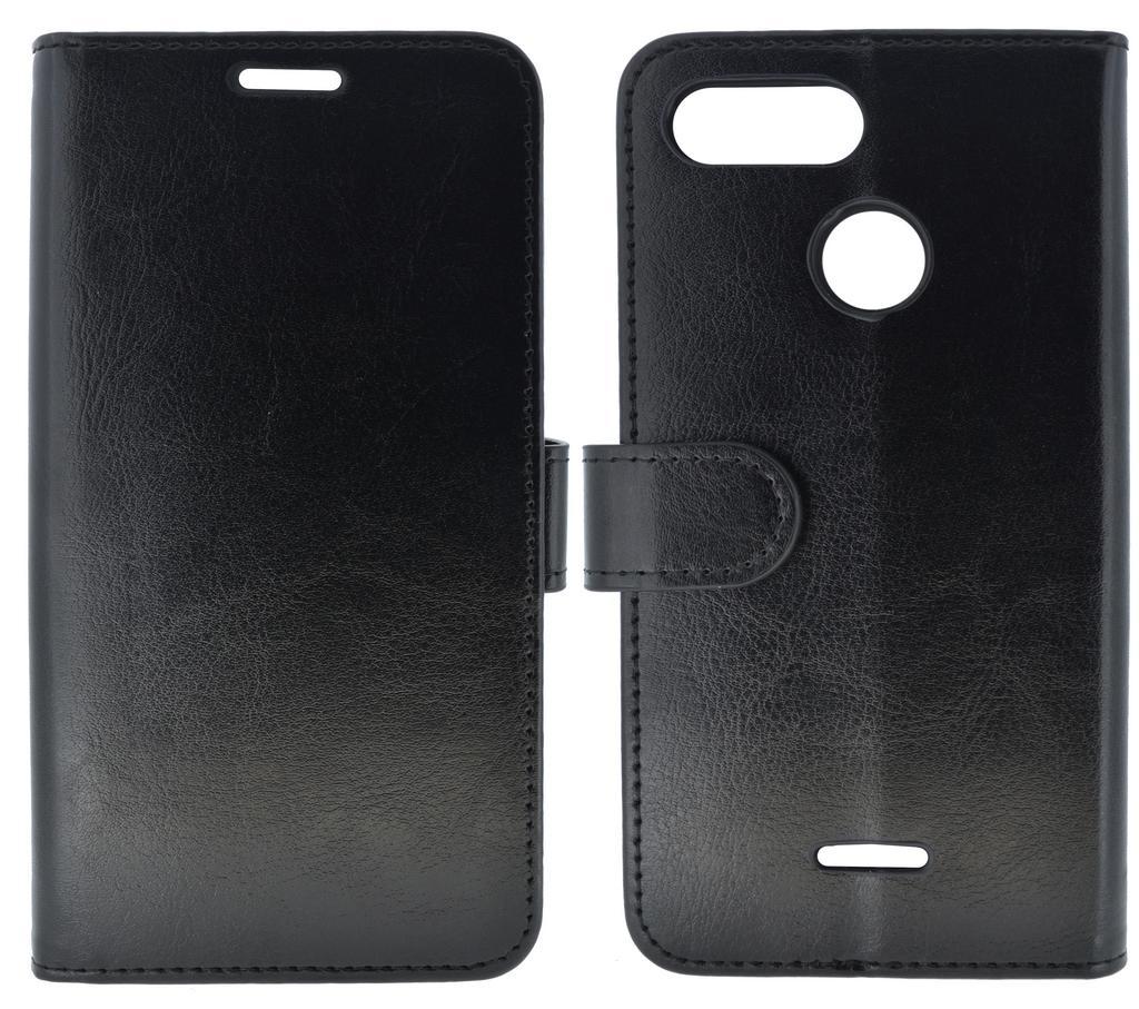 Θήκη Book Ancus Teneo για Xiaomi Redmi 6 Μαύρο