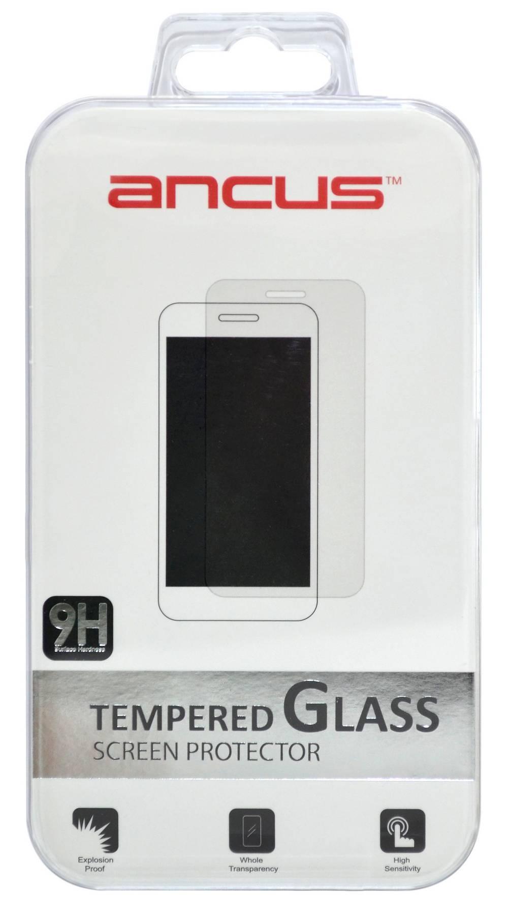 Tempered Glass Ancus 9H 0.30 mm για Apple iPhone 8 Plus Full Glue Σετ 5 Τεμαχίων