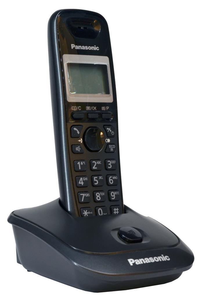 Refurbished (Εκθεσιακό) Ασύρματο Ψηφιακό Τηλέφωνο Panasonic KX-TG2511GRM Ασημί